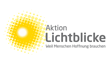 Logo Aktion Lichtblicke transparent gelb