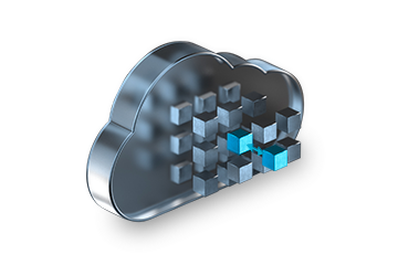Cloud Container 3D Darstellung