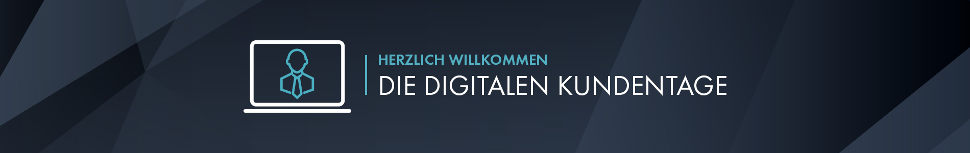 Icon und Text zu den digitalen Kundentagen